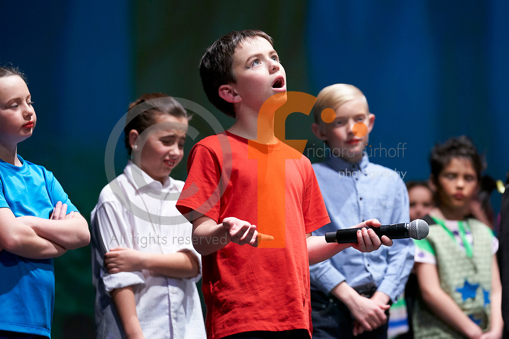 Reignier Catholic School Production of The Unfortunate Tale of Walter Wolfe.