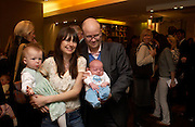 Sasha, Caroline Young, Toby Young and Ludo Launch of 'Lucy  Sykes Baby, New York' Selfridges. 14 April 2005. ONE TIME USE ONLY - DO NOT ARCHIVE  © Copyright Photograph by Dafydd Jones 66 Stockwell Park Rd. London SW9 0DA Tel 020 7733 0108 www.dafjones.com