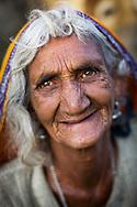 Pilgrim Hindu woman. Pushkar, India.