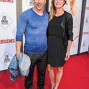 NLD/Amsterdam/20140622 - Premiere Bedscenes, Waldemar Torenstra en partner Sophie Hilbrand