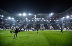 November 22, 2017 - Turin, Italy - Juventus supporters during the UEFA Champions League match between Juventus and Barcelona at the Juventus Stadium, Turin, Italy on 22 November 2017. (Credit Image: © Giuseppe Maffia/NurPhoto via ZUMA Press)
