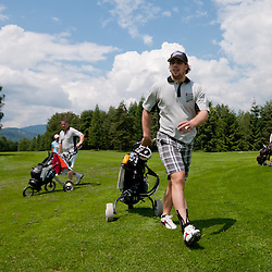 20110611: SLO, Golf - Anze's Eleven Charity Golf Tournament in Bled by Ice-Hockey Star Anze Kopitar