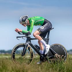 EMMEN (NED) June 16: <br />CYCLING <br />Dutch Nationals Time Trail men U23 Seven de Haan