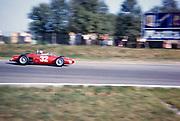 Giancarlo Baghetti, Formula One motor racing Italian Grand Prix, Monza 1961 in Ferrari 156 F1 sharknose car