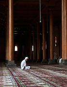 Worshippers at the Jamia Masjid Mosque in Srinigar, Kashmir, India