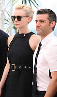 Carey Mulligan, Oscar Isaac at the Coen brother's new film 'Inside Llewyn Davis' photocall at the Cannes Film Festival Sunday 19th May 2013