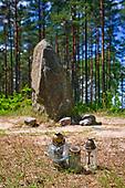 Leśno - kamienne kręgi