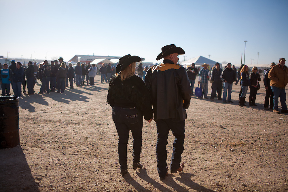 Last winter the U.S. Department of Agriculture cited health concerns when it threatened to cancel a fundraising event billed as the world's largest matanza (Spanish for slaughter or killing). The annual event, which takes place in rural Valencia County New Mexico, has roots that can be traced all the way back to 500 B.C. Spain and centers around the slaughter and eating of a locally raised animal. In the days before electricity came it was a way for communities throughout the region to ensure everyone had fresh meat during the harsh winter months. Today it endures as a celebratory time for friends and neighbors to reconnect over a day of feast...The public outcry was overwhelming as news of the cancelation hit. As a result, the USDA backed off and the event was rescheduled. In the aftermath, one thing was clear: New Mexicans love their matanzas and will not give them up without a fight. Killing Tradition: Matanzas in New Mexico is an ongoing personal project and visual exploration of the cultural significance of the tradition and its place in contemporary society.The matanza is significant because it's a link that connects current and future generations with their ancestors..