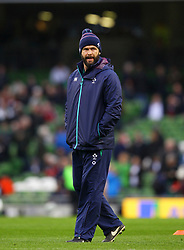 Ireland coach Andy Farrell - Mandatory by-line: Ken Sutton/JMP - 18/03/2017 - RUGBY - Aviva Stadium - Dublin,  - Ireland v England - RBS 6 Nations