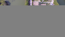 April 26, 2017 - Liaocheng, Liaocheng, China - Liaocheng, CHINA-April 26 2017: (EDITORIAL USE ONLY. CHINA OUT)..Aerial photography of Liaocheng University in Liaocheng, east China's Shandong Province. (Credit Image: © SIPA Asia via ZUMA Wire)