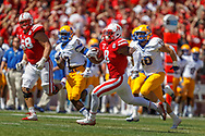 Ameer Adbullah turned a short pass from Tommy Armstrong Jr. into a 58-yard touchdown with 20 seconds left to give  No. 19 Nebraska a 31-24 win over McNeese State at Memorial Stadium on Sept. 6, 2014.