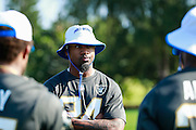 January 28 2016: Oakland Raiders safety Charles Woodson after the Pro Bowl practice at Turtle Bay Resort on North Shore Oahu, HI. (Photo by Aric Becker/Icon Sportswire)