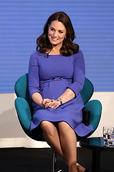 The Duchess of Cambridge during the first Royal Foundation Forum in central London.