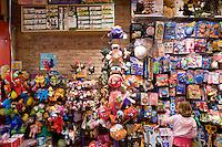 """7 Novembre, 2008. Brooklyn, New York.<br /> <br /> Una bambina sceglie un giocattolo al Lulu's Cuts & Toys, una parruccheria per bambini e negozio di giocattoli a Park Slope, Brooklyn, NY. Park Slope, spesso definito dai newyorkesi come """"The Slope"""", è un quartiere nella zona ovest di Brooklyn, New York, e confinante con Prospect Park.  Park Slope è un quartiere benestante che ha il maggior numero di nascite, la qualità della vita più alta e principalmente abitato da una classe media di razza bianca. Per questi motivi molte giovani coppie e famiglie decidono di trasferirsi dalle altre municipalità di New York a Park Slope. Dal punto di vista architettonico, il quartiere è caratterizzato dai brownstones, un tipo di costruzione molto frequente a New York, e da Prospect Park.<br /> <br /> ©2008 Gianni Cipriano for The New York Times<br /> cell. +1 646 465 2168 (USA)<br /> cell. +1 328 567 7923 (Italy)<br /> gianni@giannicipriano.com<br /> www.giannicipriano.com"""