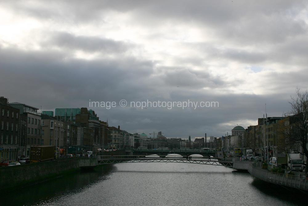 View of Dublin City, Ireland