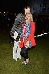 Left to right, LILAH PARSONS and PIPS TAYLOR at the Battersea Power Station Annual Party at Battersea Power Station, 188 Kirtling Street, London SW8 on 30th April 2014.