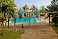 Swimming pool at the Hotel Ciego de Avila, Cuba.