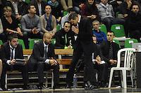 Eric DELORD / TJ PARLER / J.D JACKSON   - 29.12.2014 - Lyon Villeurbanne / Le Havre - 16e journee Pro A<br /> Photo : Jean Paul Thomas / Icon Sport