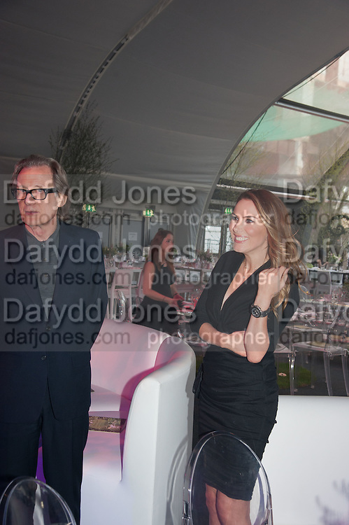 BILL NIGHY, Gabrielle's Gala 2013 in aid of  Gabrielle's Angels Foundation UK , Battersea Power station. London. 2 May 2013.