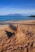 Sandcastle, Maluaka Beach, Makena, Maui, Hawaii