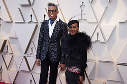 Cicely Tyson and guest arrive on the red carpet of The 91st Oscars® at the Dolby® Theatre in Hollywood, CA on Sunday, February 24, 2019.