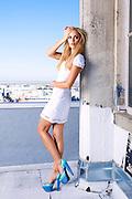 Laura Vandervoort photographed in Los Angeles for Hydrogen Magazine