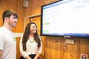 Cathal de Mordha and Ciara de Mordha  from Kerry Photo:Andrew Downes