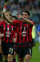 Genova 30-10-2004<br /> <br /> Campionato  Serie A Tim 2004-2005<br /> <br /> Sampdoria Milan<br /> <br /> nella  foto Paolo Maldini Milan<br /> <br /> Foto Snapshot / Graffiti