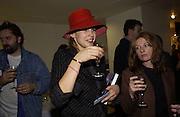 Bettina von Kameke. Matthew Collings book launch / Mat Collishaw<br />Selfridge's. 18 October 2001.  W1© Copyright Photograph by Dafydd Jones 66 Stockwell Park Rd. London SW9 0DA Tel 020 7733 0108 www.dafjones.com