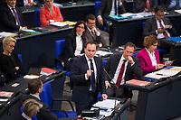 DEU, Deutschland, Germany, Berlin, 12.12.2017: Dr. Volker Ullrich (CSU) während einer Plenarsitzung im Deutschen Bundestag.