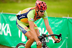 Anze Povsic at Slovenian National Championships in Road cycling, 178 km, on June 28 2009, in Mirna Pec, Slovenia. (Photo by Vid Ponikvar / Sportida)