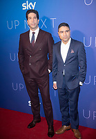 David Schwimmer,Nick Mohammed  at the The Sky Up Next Event ,The Tate Modern In London 12 fwb 2020 photos by Brian Joesan