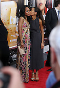 25 October 2010- New York, NY- l to r: Kerry Washington and Thandie Newton at Tyler Perry's World Premiere of the Film 'For Colored Girls ' an Adaptation of Ntozake Shange's play ' For Colored Girls Who Have Considered Suicide When the Rainbow Is Enuf.' held at the Zeigfeld Theater on October 25, 2010 in New York City.