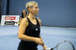Manja Zupancic Simonic at BTC Medot novoletni rekreativni teniski turnir dvojic 2020, on January 18, 2020 in BTC Millenium centre, Ljubljana, Slovenia. Photo by Vid Ponikvar / Sportida