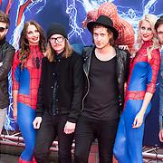 NLD/Amsterdam/20140422 - Premiere The Amazing Spiderman 2, Kensington, Casper Starreveld, Eloi Youssef, Niles Vandenberg, Jan Haker, Lucas Lenselink