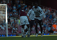 Photo: Tony Oudot.<br /> West Ham United v Wigan Athletic. The FA Barclays Premiership. 25/08/2007.<br /> Luis Boa Morte of West Ham looks dejected after missing near the end