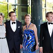 NLD/Amsterdam/20110527 - 40ste verjaardag Prinses Maxima, Prinses Laurentien, Prins Constantijn, Prinses Mabel, Prins Friso