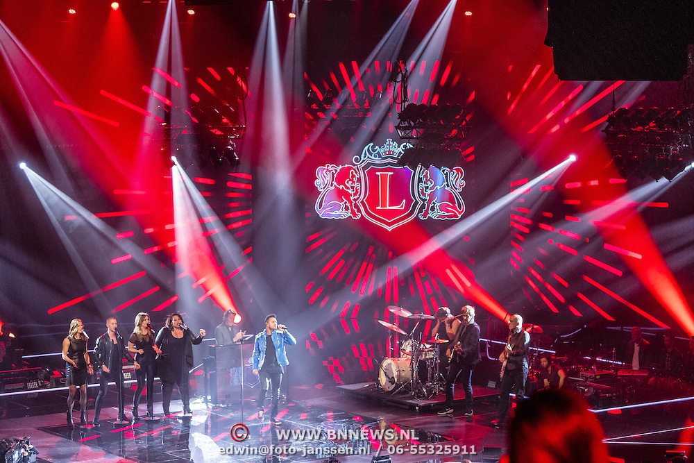 NLD/Hilversum/20170120 - 2de liveshow The Voice of Holland 2017, Leon Sherman