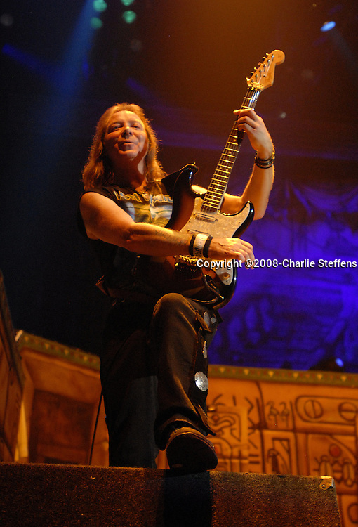 Dave Murray<br /> February 19, 2008<br /> Iron Maiden<br /> The Forum<br /> Inglewood, California