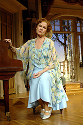 Dame Judi Dench during a photocall for her new play 'Hay Fever', at the Theatre Royal, Haymarket, central London.