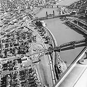 Y-560400A-08.  Williams Avenue District, where Memorial Coliseum was built between Broadway and Steel bridges