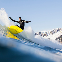 Surfing Alaska