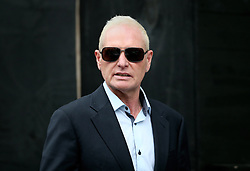 © Licensed to London News Pictures. 29/10/2015. Bournemouth, UK. Paul Gascoigne leaves Bournemouth Magistrates Court after pleading guilty to harassment and assault charges. Photo credit: Peter Macdiarmid/LNP