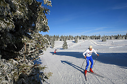 Slovenian cross-country skier Metod Mocnik at 10th OPA - Continental Cup 2008-2009, on January 17, 2009, in Rogla, Slovenia.  (Photo by Vid Ponikvar / Sportida)
