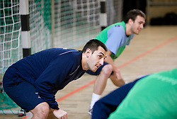 Dragan Gajic at Open training session for the public of Slovenian handball National Men team before European Championships Austria 2010, on December 27, 2009, in Terme Olimia, Podcetrtek, Slovenia.  (Photo by Vid Ponikvar / Sportida)