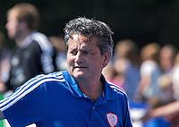 UTRECHT - Bondscoach Paul van Ass, zaterdag tijdens de  hockey interland tussen de mannen van Nederland en Duitsland (4-2). COPYRIGHT KOEN SUYK