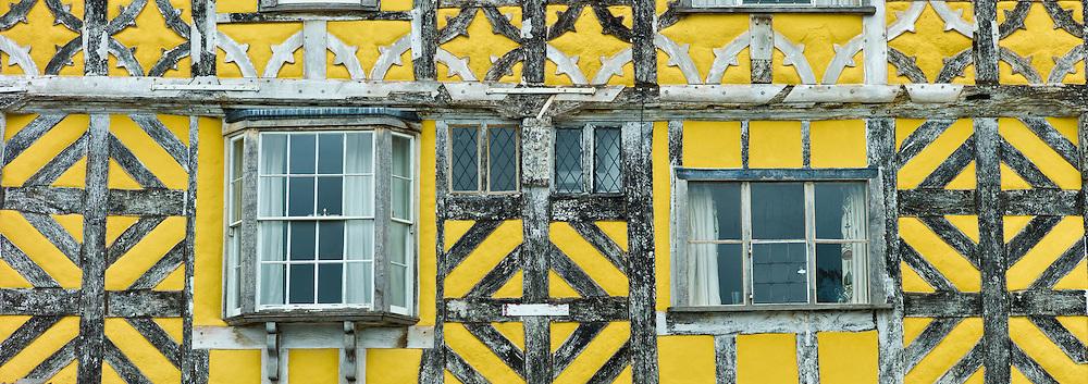 Tudor style timber-framed house in Corve Street, Ludlow, Shropshire, UK