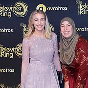 NLD/Amsterdam/20181011 - Televizier Gala 2018, ..... en  Samya Hafsaoui