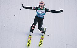 31.12.2019, Olympiaschanze, Garmisch Partenkirchen, GER, FIS Weltcup Skisprung, Vierschanzentournee, Garmisch Partenkirchen, Qualifikation, im Bild Stefan Kraft (AUT) // Stefan Kraft of Austria during his qualification Jump for the Four Hills Tournament of FIS Ski Jumping World Cup at the Olympiaschanze in Garmisch Partenkirchen, Germany on 2019/12/31. EXPA Pictures © 2019, PhotoCredit: EXPA/ JFK