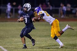 17 September 2021: Normal Community West Wildcats host Bloomington High Raiders at Normal Community West High School in Normal Illinois